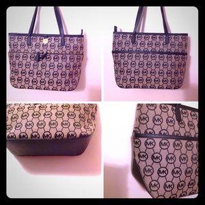 Michael Kors MK's signature handbag